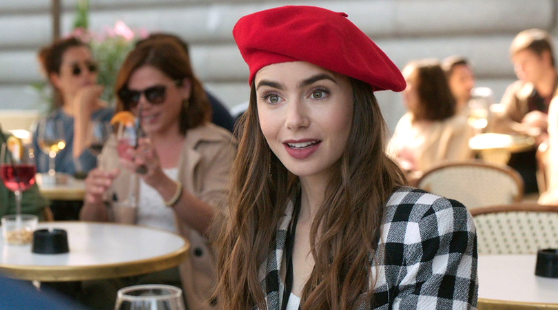 An Insider Look at Lily Collins' Chic Outfits from Emily in Paris