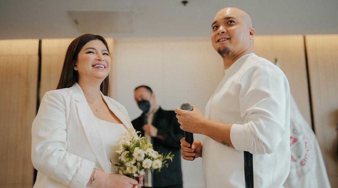 Simple but Sweet: Angel Locsin and Neil Arce's Surprise Wedding