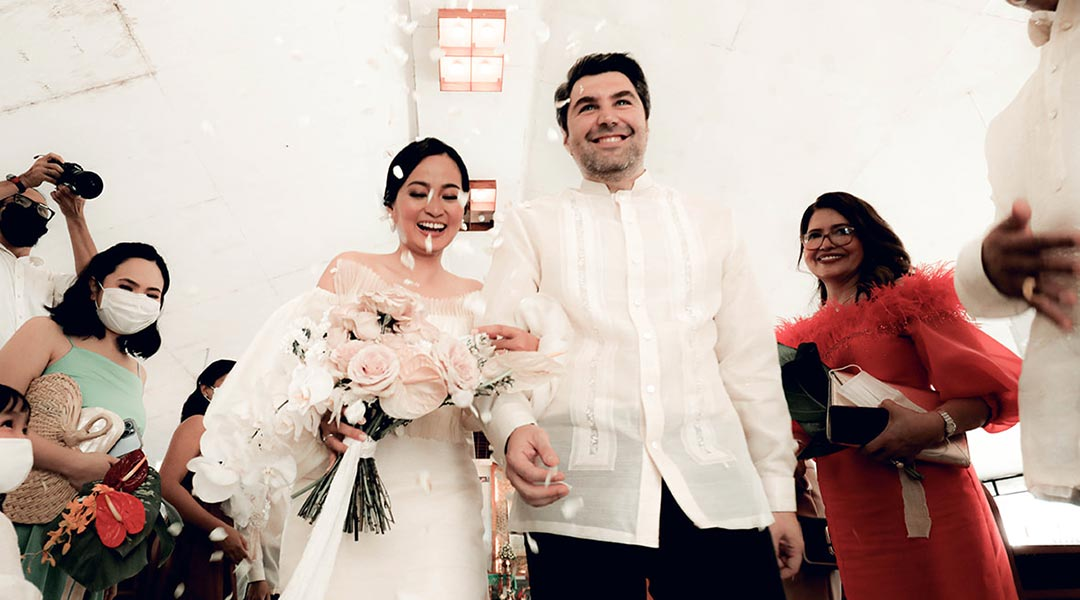 A Pandemic Wedding: From Italy to the Philippines, With Love